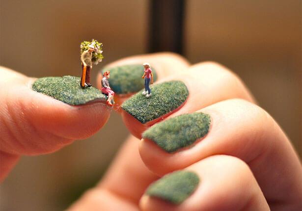 Alice Bartlett nail art 1 - Amazing Nail Art