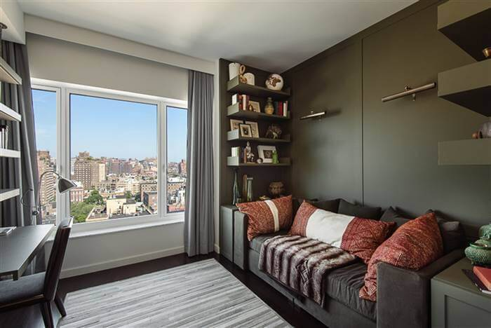View from Hillary Swanks' apartment