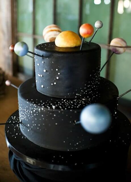 cake 6 - Get lost into the Galaxy with these Cakes