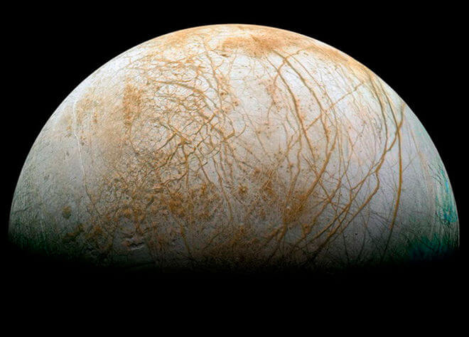 europa thick ice crust - Water on Europa, Aliens?