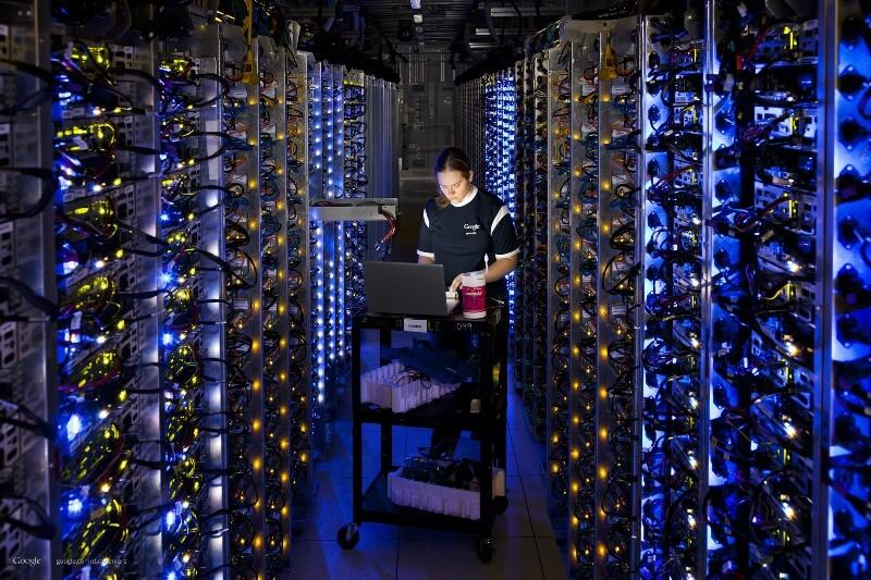 google 3 - Inside Google Data Center