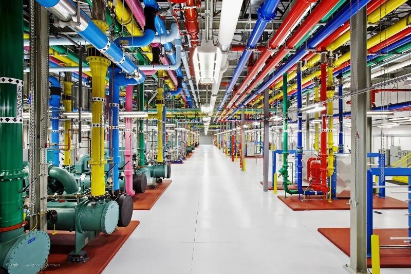 google 4 - Inside Google Data Center