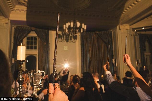 harry potter style wedding (15)