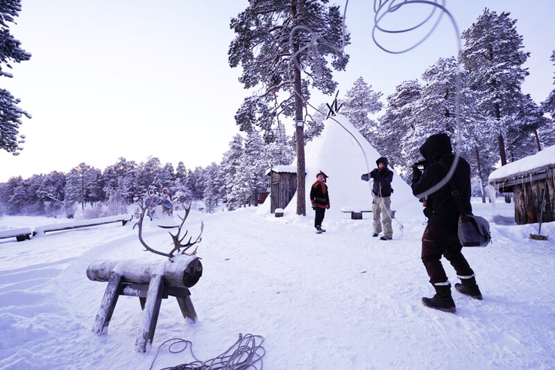 lapland 1 - Here you travel to Lapland