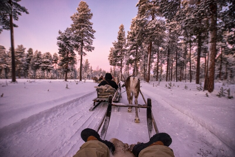 lapland 15 - Here you travel to Lapland