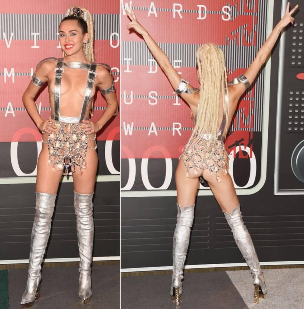 Miley MTV VMA 2015