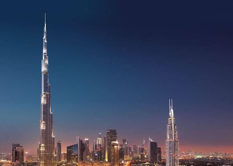 via : Burj Khalifa