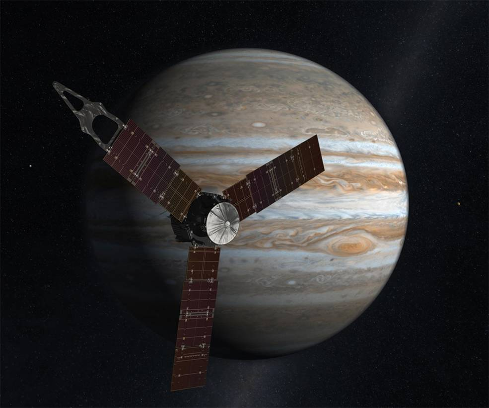 Artist concept of Juno by Nasa