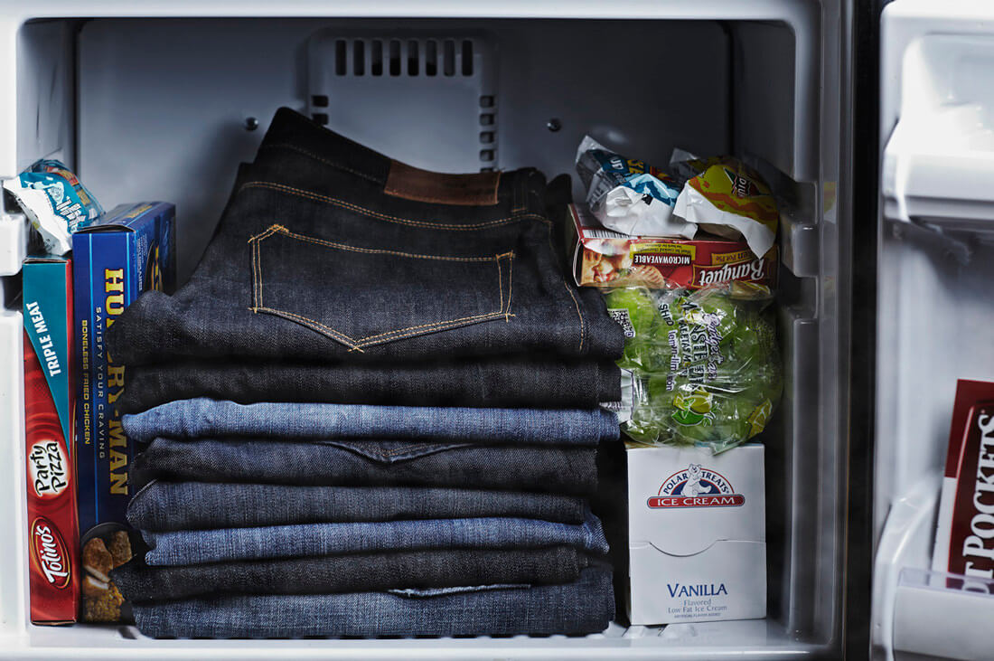 denim freezer - Quick Fix Fashion Hacks