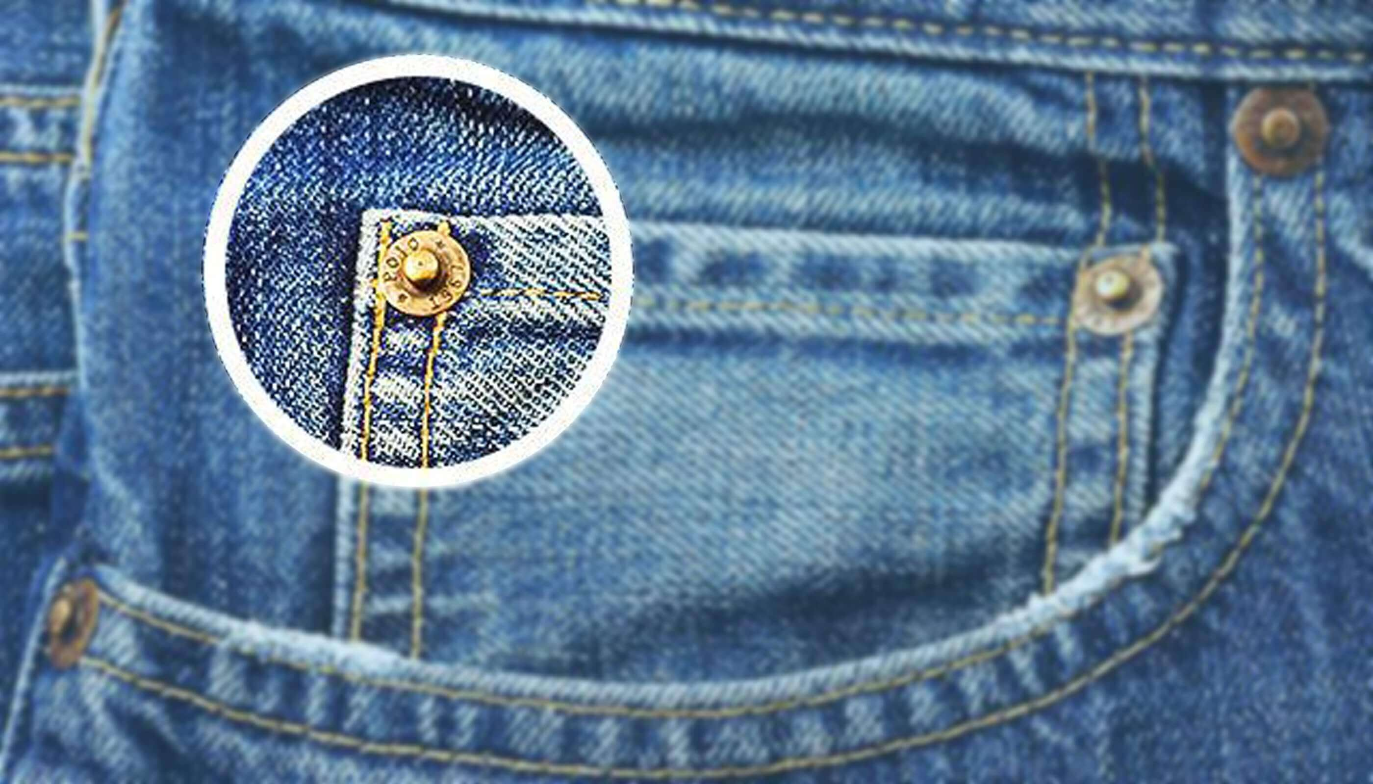 rivets jeans - Ever wondered why do jeans have those tiny pocket and buttons?