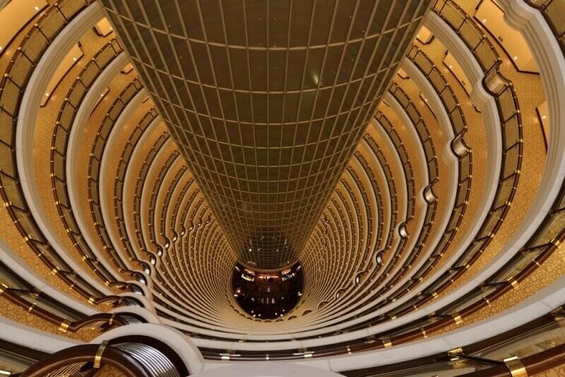 Hyatt Shanghai hotel's Atrium