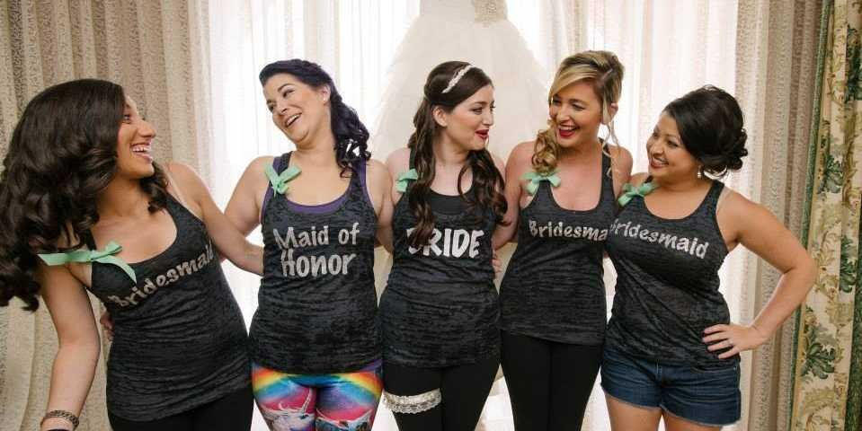 Bridesmaids on rent