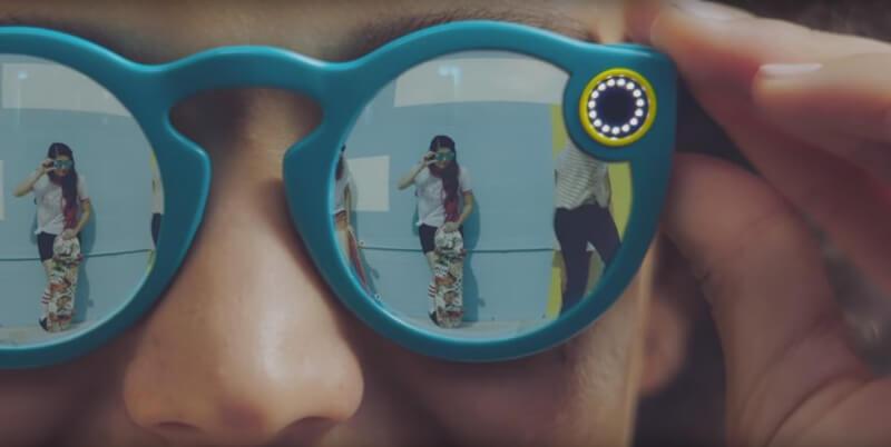snapchat 1 - Snapchat brings hardware product, sunglasses with camera
