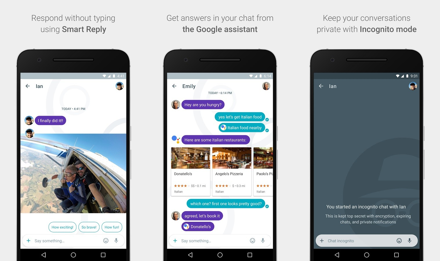 Snowden say Don't Use Google Allo app as its lack Encryption by deafualt