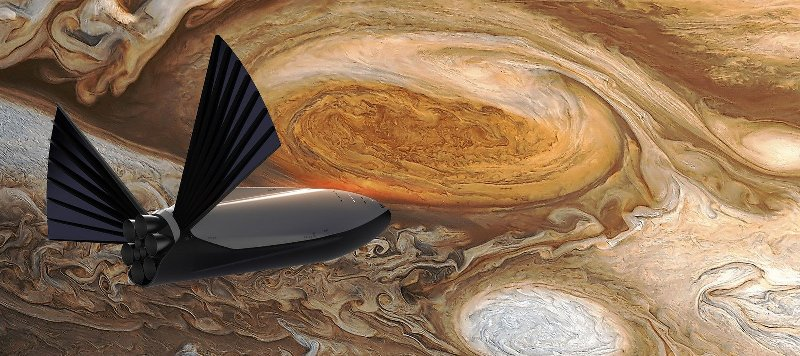 spacex Interplanetary Transport System 4 1 - Elon Musk reveals SpaceX Interplanetary Transport System to colonize Mars