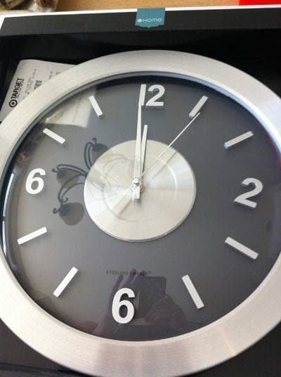 You don't want to rely on this clock maker