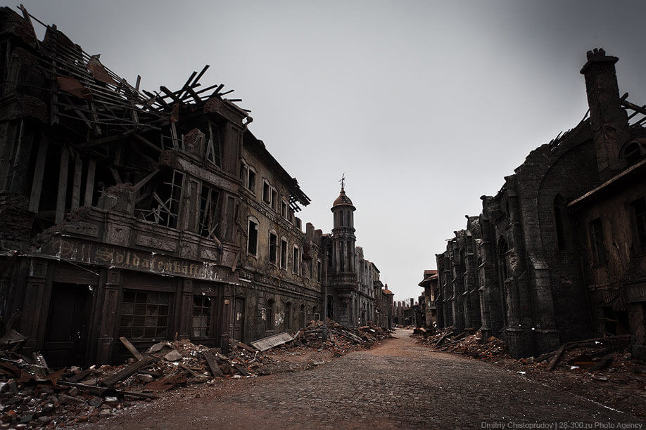 ghost town mosfilm