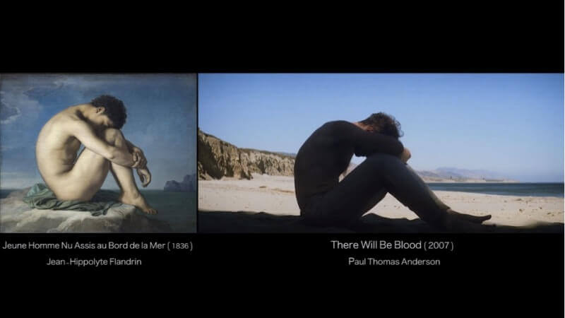 Movie scenes inspired by famous paintings 2 - Movie scenes inspired by famous paintings