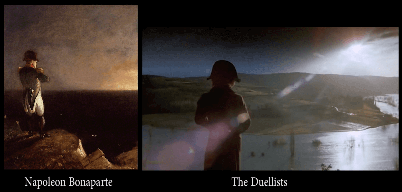 Napoleon in St. Helena , by Francois-Joseph Sandmann - The Duellists Ridley Scott (1977)