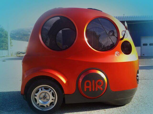 airpod 8 - Can you believe that vehicles can run on Air as alternative Fuel