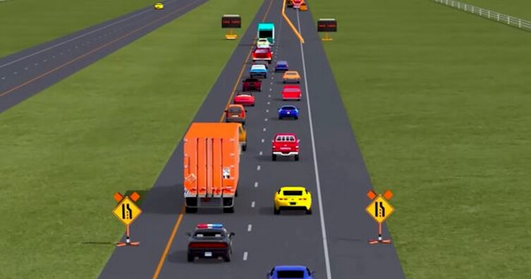 merging traffic - Last Minutes Merging in the Traffic is the Right Way