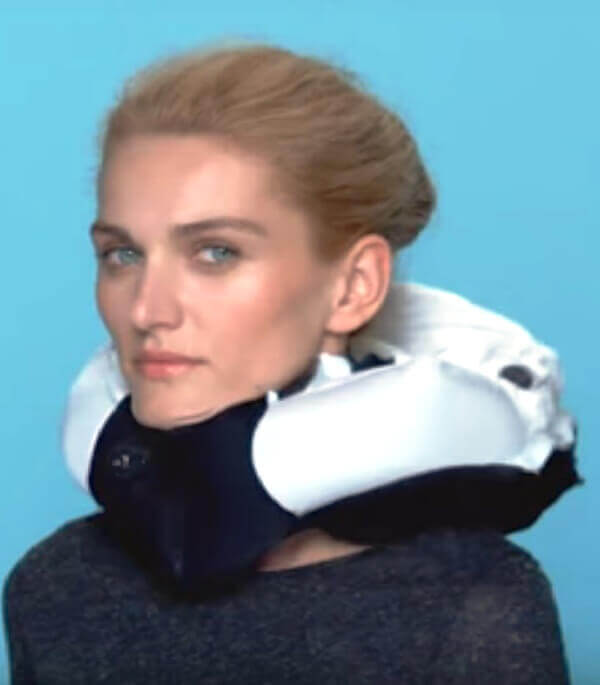Hövding bicycle air bags 1 - Airbag safety for Cyclists; Can you believe this !