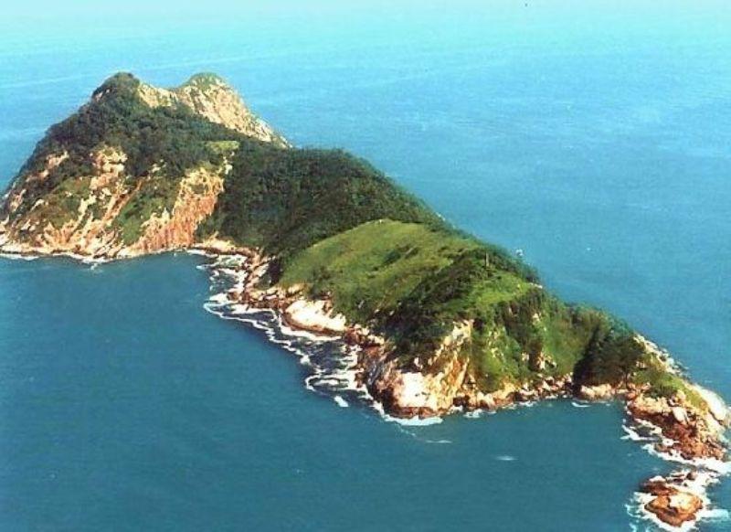 Ilha da Queimada Grande also known as Snake Island
