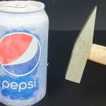pepsi cann 1 150x150 - See what liquid nitrogen can do to a Pepsi Can and Bottle of Coca Cola