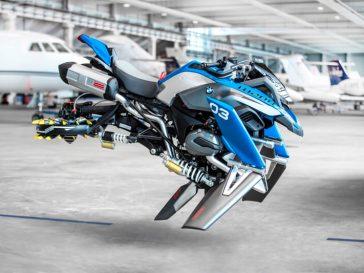 BMW Motorrad and LEGO® Technic - Hover Ride Design Concept