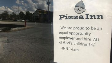 ALL of  God's children 364x205 - Inspiring Sign Outside Restaurant After Complaint About Special Needs Employees
