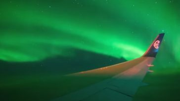Aurora Australis 364x205 - The flight view of stunning Aurora Australis