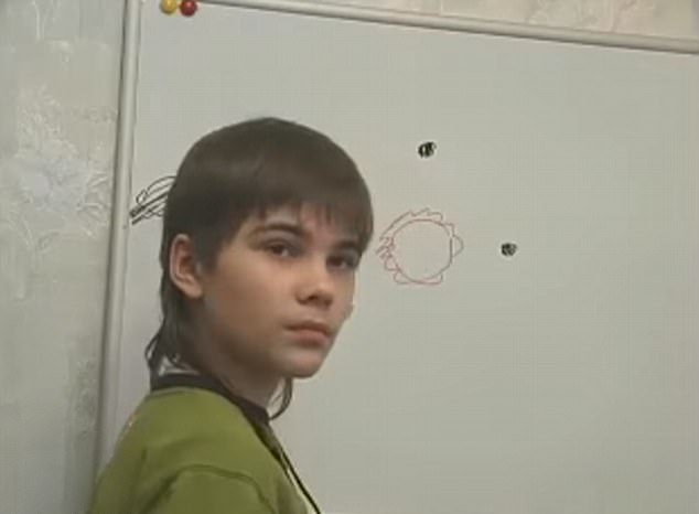 Boriska Kipriyanovich mars russian boy