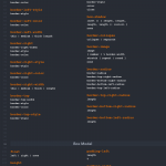 CSS selectors cheat sheet syntax 1 150x150 - Complete hack list of CSS syntax and selectors