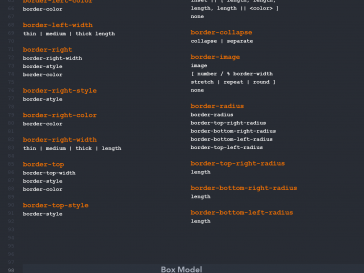 CSS selectors cheat sheet syntax 1 364x273 - Complete hack list of CSS syntax and selectors