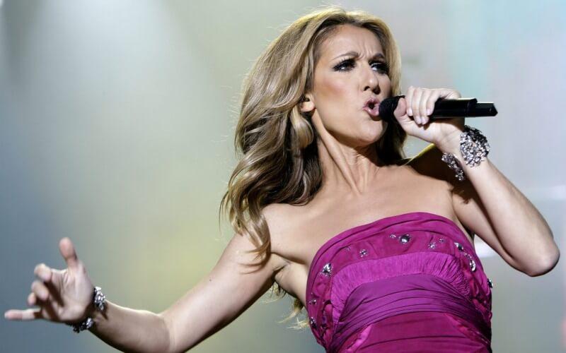 Celine Dion - Most Dangerous Celebrities Online