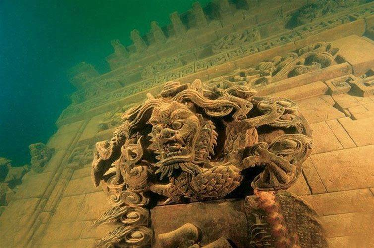 mysterious underwater discoveries lost city chine