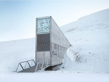 Doomsday vault 364x273 - Earth's Backup: The Doomsday  Vault