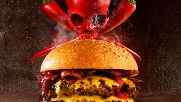 Double Decker Death Wish Burger