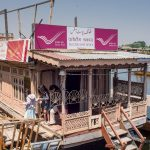 Floating Post Office Dal Lake kashmir