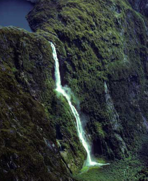 James Bruce Falls tallest waterfall