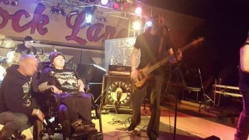 Dad Puts Together Heavy Metal Concert For Son With Cerebral Palsy, Who Is Also A MetalHead