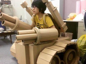 Monomi Ohno cardboard artist
