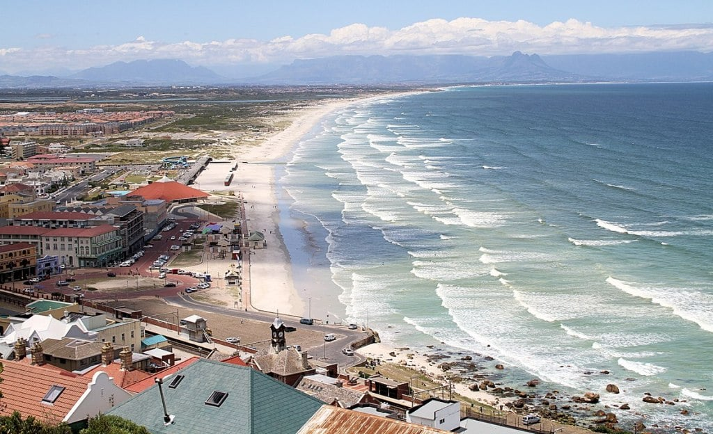 Muizenberg beach largest beaches in the world