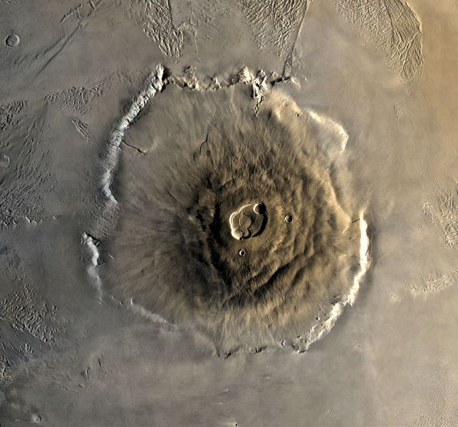 Olympus Mons alt - You need to know these interesting facts about planet Mars