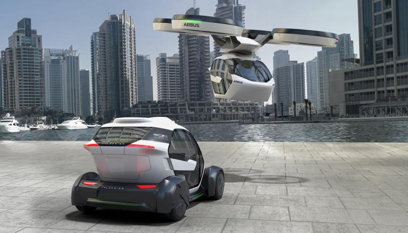 Airbus and Italdesign want to introduce something innovative and different.