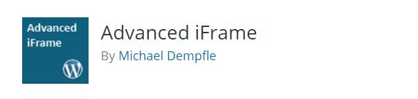 advanced iframe plugin