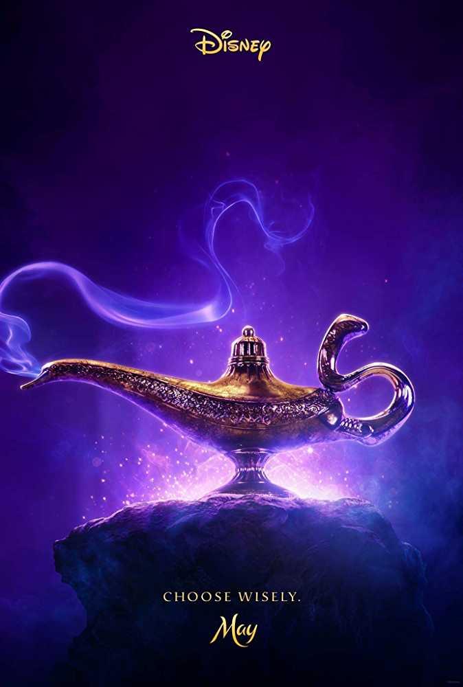 Aladdin disney 2019 poster