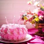 celebrate your birthday with zodia sign pink