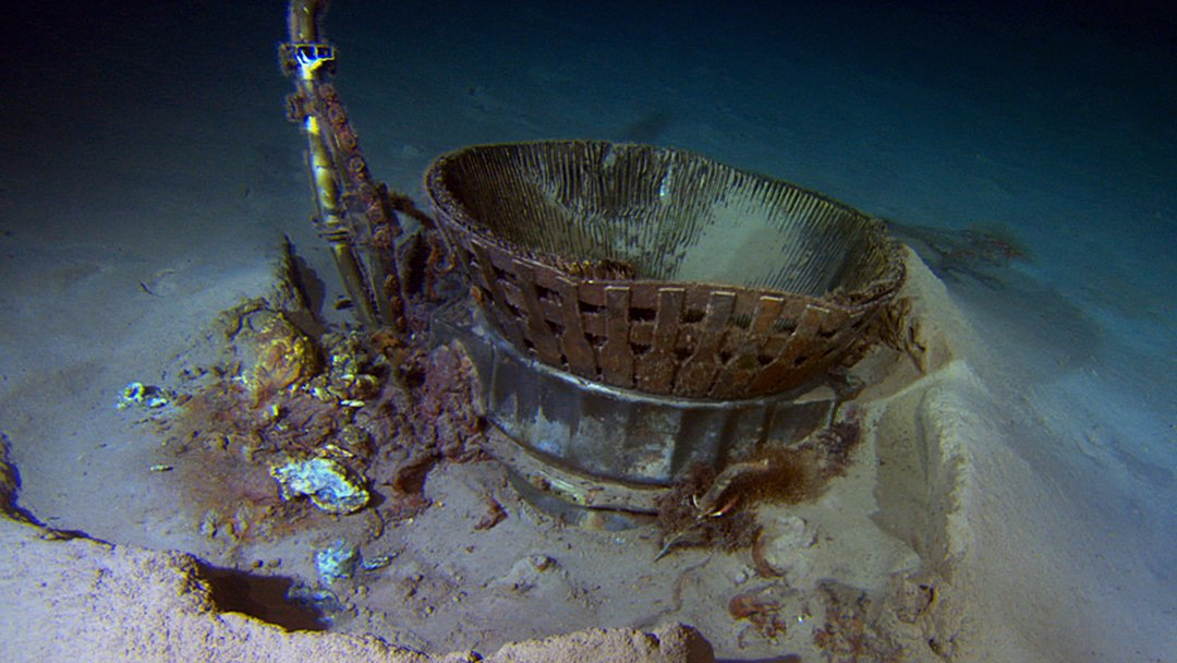 underwater discoveries Apollo 11 discovery by jeff bezos