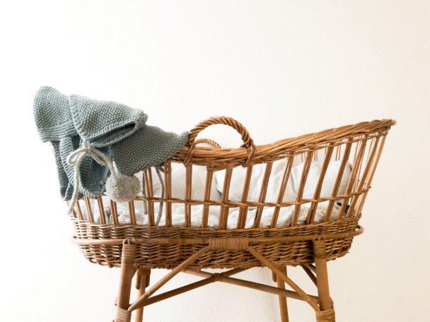 baby crib basket style
